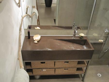 Int rieur atelier galiano - Salle de bain couleur chocolat ...